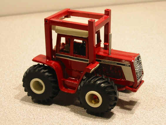 Matsen Miniatures Offers Both Their 4166 And 4186 Casting With A Plastic Resin Ih Rops Structure Around The Cab If Collector Wants It