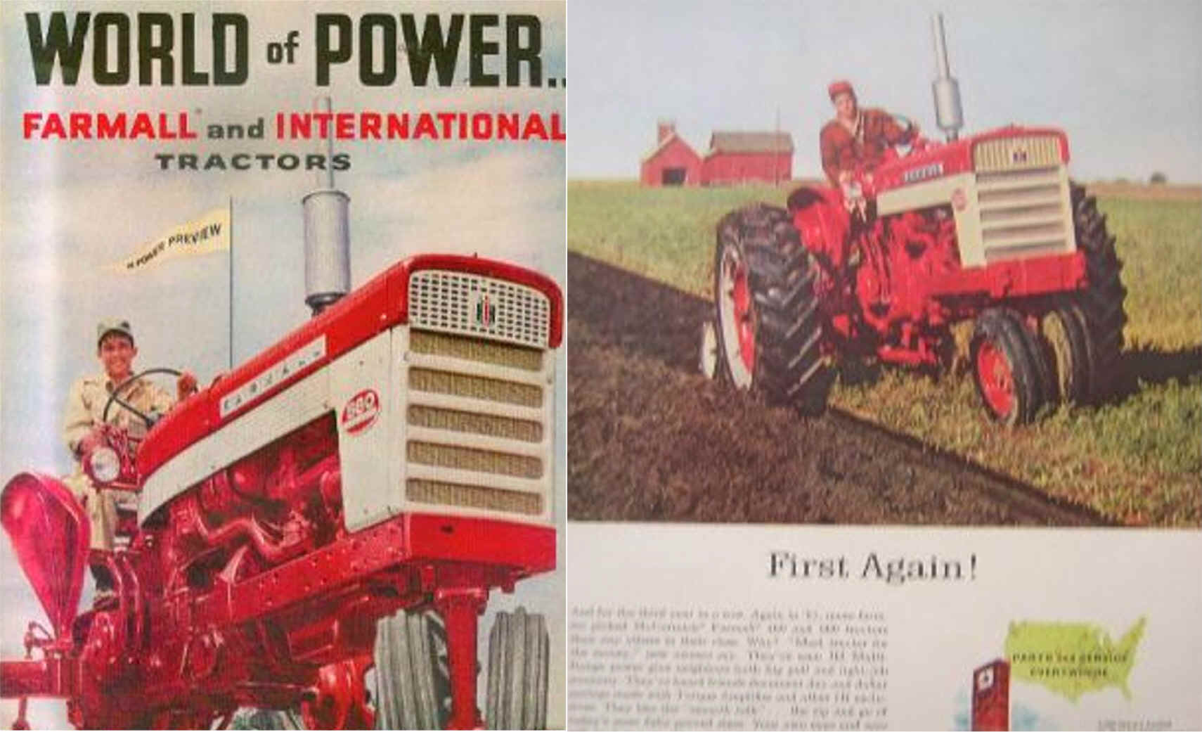 The Farmall 560 Built From 1958 1963 Tractors Were One Of Most Popular Period It Was A 5 Plow Tractor With 60 Hp